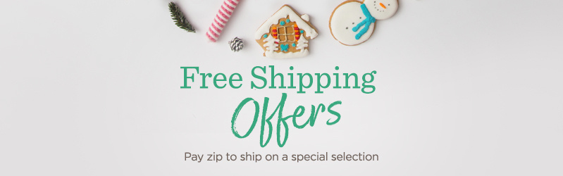 Free Shipping Offers — Pay zip to ship on a special selection