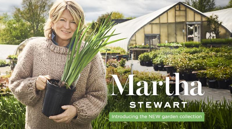 Martha Stewart — Introducing the NEW garden collection