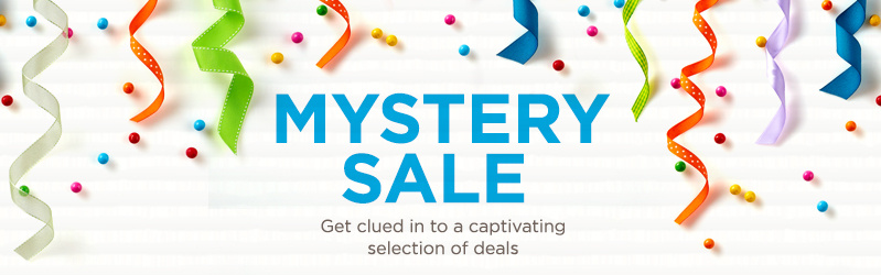 Mystery Sale — Get clued in to a captivating selection of deals