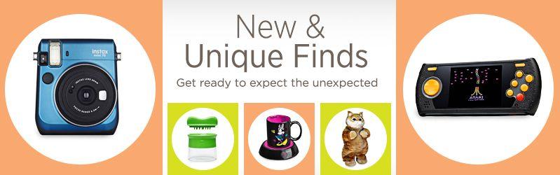 New & Unique Finds