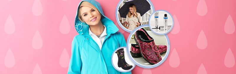 Right for Rain — When spring showers fall, reach for these essentials