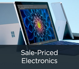 Sale-Priced Electronics
