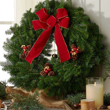 Hurry for Fresh Balsam — Pick up wreaths, garland & more while you can