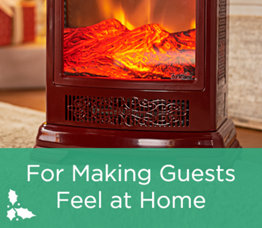 For Making Guests Feel at Home