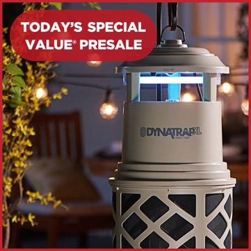 Today's Special Value® Presale — Best Price Available — DynaTrap® XL Mosquito & Insect Trap with Lure