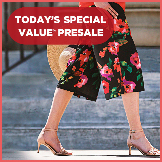 Today's Special Value® Presale — Susan Graver Crops