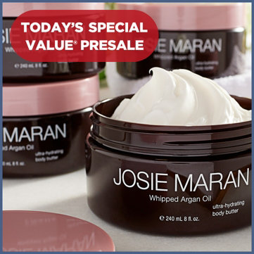 Today's Special Value® Presale — 5-Piece Mega Set — Josie Maran Whipped Argan Body Butters