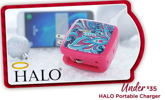 HALO Portable Charger Under $35