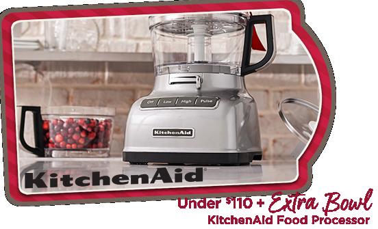 KitchenAid Food Processor — Under $110 + Extra Bowl