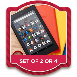 Amazon Fire Tablets — Set of 2 or 4