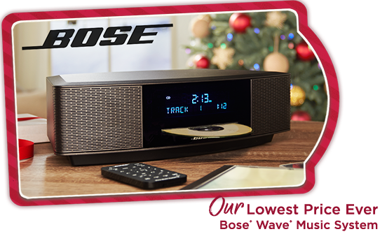 Our Lowest Price Ever Bose® Wave® Music System