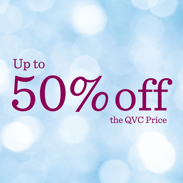 Up to 50% off the QVC Price — Clearance Finds
