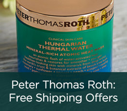 Peter Thomas Roth: Free Shipping Offers