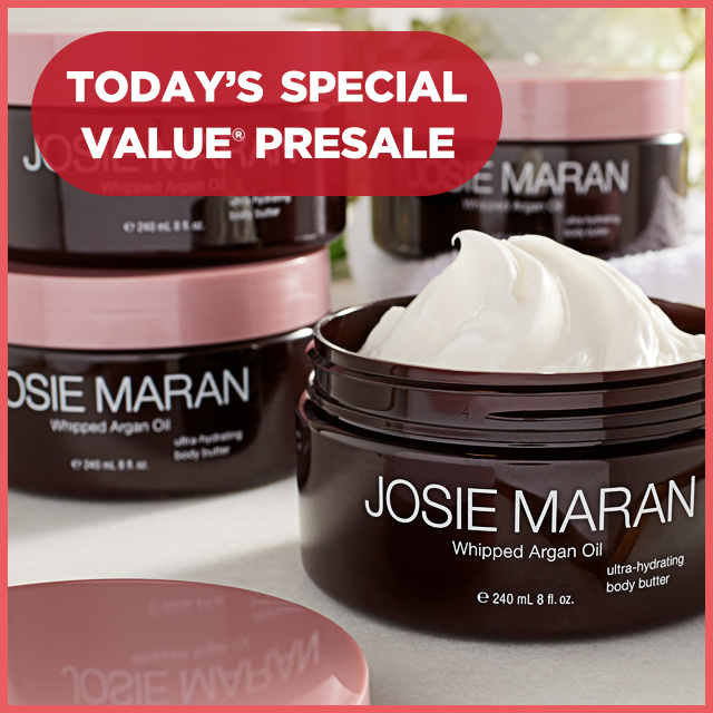 Today's Special Value® Presale — Josie Maran Set