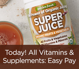 Today! All Vitamins & Supplements: Easy Pay