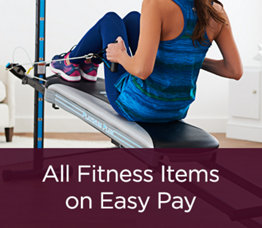 All Fitness Items on Easy Pay