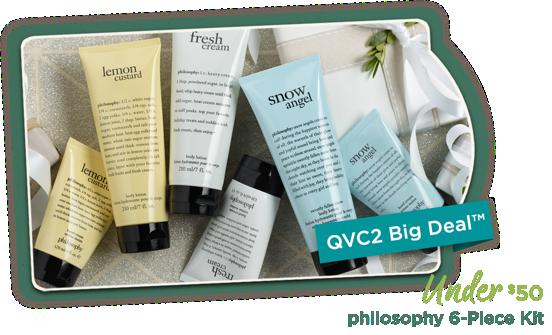 QVC2 Big Deal™ — philosophy 6-Piece Kit Under $50