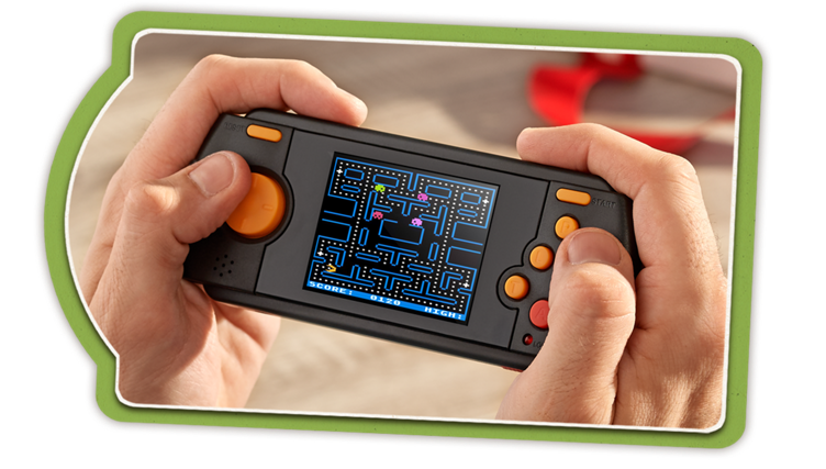 70 Built-In Games — Atari Flashback Portable Deluxe Handheld