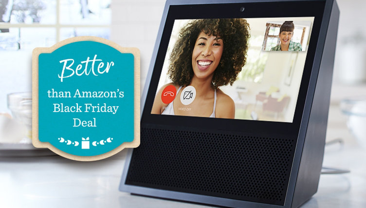 Better than Amazon's Black Friday Deal — Amazon TSV® Presale — Get an Echo Show & TP-Link Smart Plug for $179.94