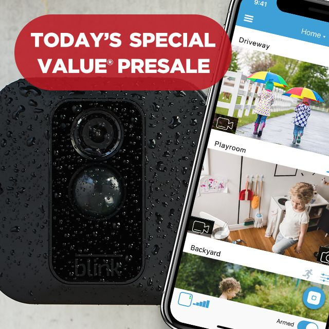 Today's Special Value® Presale — 3 Blink Security Cams