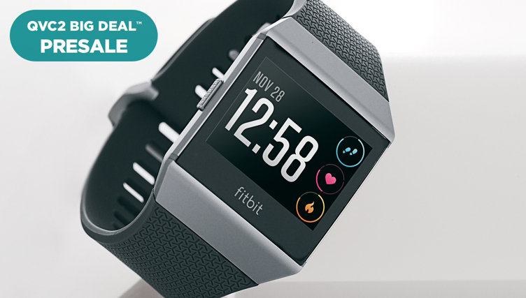 QVC Big Deal™ Presale — Fitbit Ionic Smartwatch — With additional sport band! Shop this offer early