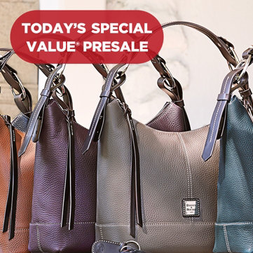 Today's Special Value® Presale — Dooney & Bourke Hobo — Indulge in this pebble-leather beauty under $230