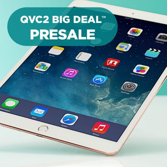QVC2 Big Deal™ Presale — iPad Pro® Tablet