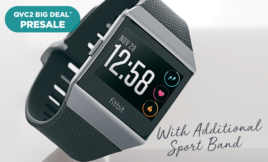 QVC2 Big Deal™ Presale — Fitbit Ionic Smartwatch — With Additional Sport Band