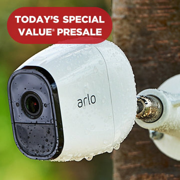 Today's Special Value® Presale — Best Price Available — NETGEAR Arlo Pro 2-Pack Cameras with Mount