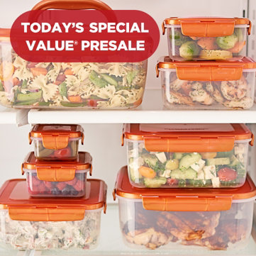 Today's Special Value® Presale — Handy Storage — Don't miss this Lock & Lock 8-Piece Nestable Set