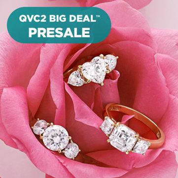 QVC2 Big Deal Presale — Diamonique® Ring — Under $35! Choose your design