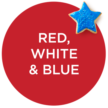 Red, White & Blue — A Salute to Style — Let your fashion flag fly in color-inspired picks