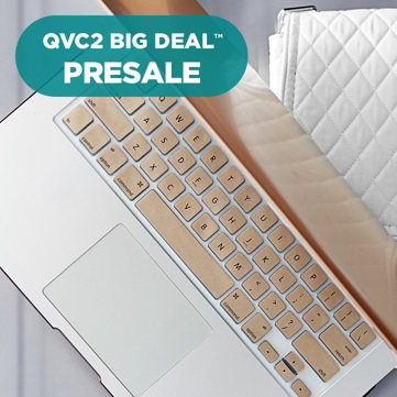 "QVC2 Big Deal™ Presale — Latest Model — Apple® MacBook Air® 13"" Laptop with Accessories"