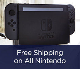 Free Shipping on All Nintendo