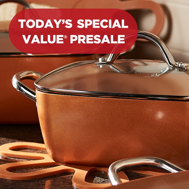 TSV Presale — Copper Chef Set