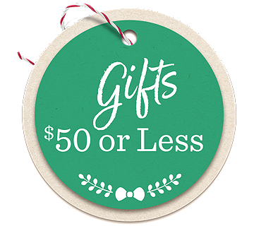 Gifts $50 or Less