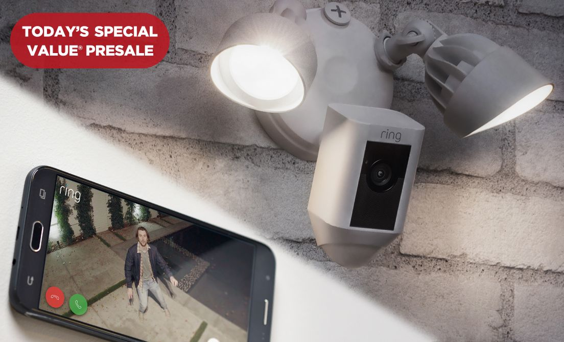 Today's Special Value® Presale — Ring Security Camera