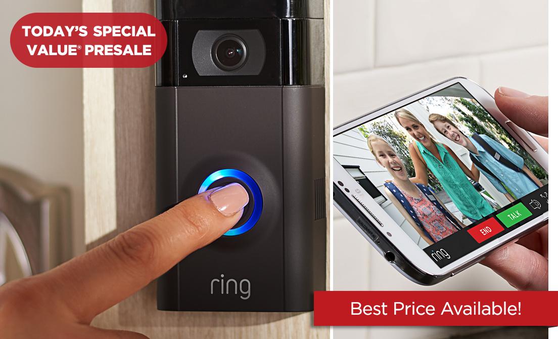 Today's Special Value® Presale — Ring Video Doorbell 2