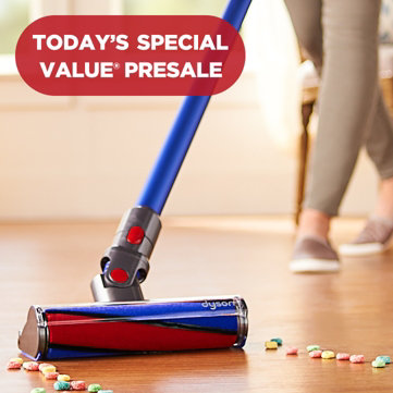 Today's Special Value® Presale — Don't Miss Out — Lowest-priced Dyson V8 Absolute we've ever offered