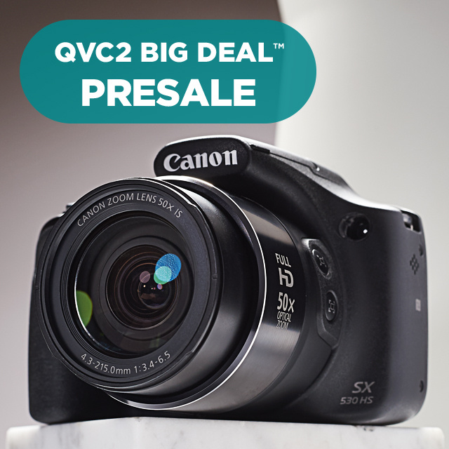QVC2 Big Deal™ Presale — Canon SX530 Camera