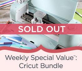 Weekly Special Value™: Cricut Bundle