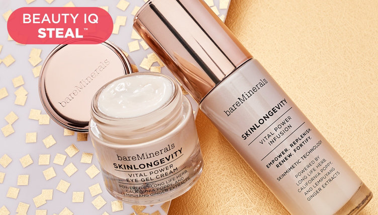 Beauty iQ Steal™ — bareMinerals® Kit — Find this deal thru 8pm ET, plus shop more beauty
