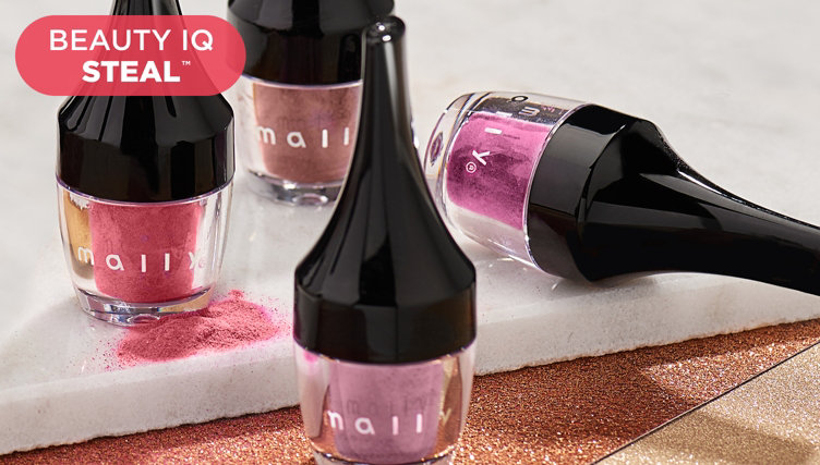 Beauty iQ Steal™ — Mally Lip Powder Set — Find this deal thru 8pm ET, plus shop more beauty