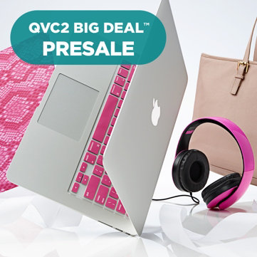 "QVC2 Big Deal Presale™ — Newest Model — MacBook Air® 13"" Laptop with Clip Case & Tote Bag"