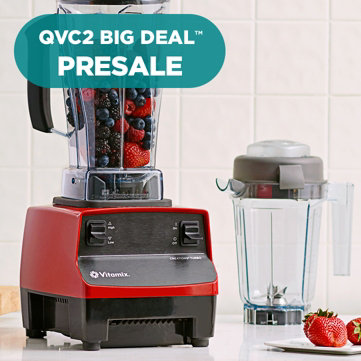 QVC2 Big Deal™ Presale — Culinary Powerhouse — Don't miss this Vitamix Blender with Dry Container