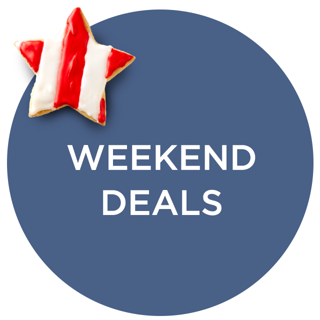 Weekend Deals — Not to Be Missed