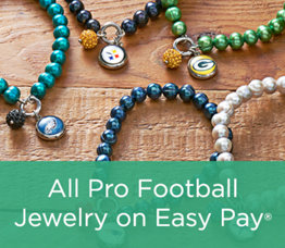 All Pro Football Jewelry on Easy Pay®