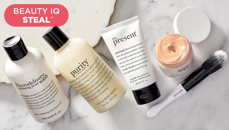 Beauty iQ Steal™ — philosophy 5-Piece Kit — Find this deal thru 8pm ET & shop upcoming Steals