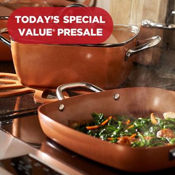 Today's Special Value® Presale — Copper Chef Set — 10 pieces under $80! Choose your color