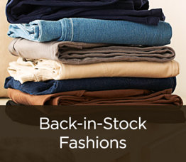 Back-in-Stock Fashions
